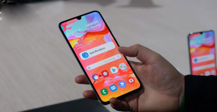 Samsung Galaxy A70 Feature Review
