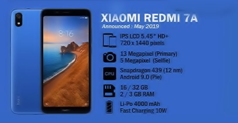 Xiaomi Redmi 7A Feature Review